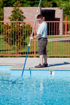 Pool cleaner in Oklahoma.